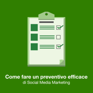 preventivo social media marketing